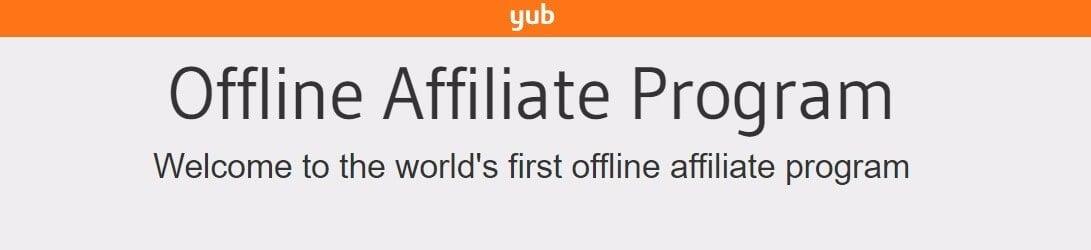 The Yub homepage