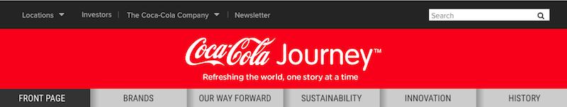 Coca-Cola trademark red