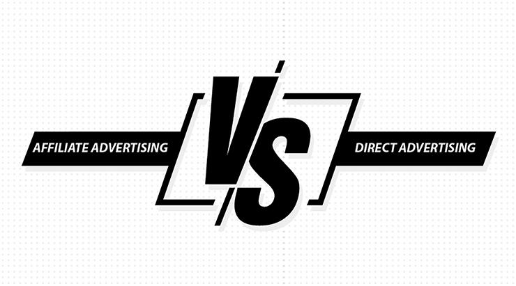 affiliate advertising vs direct advertising