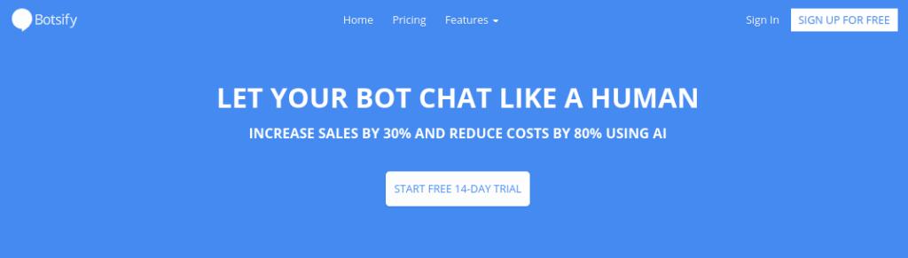 Botsify website.