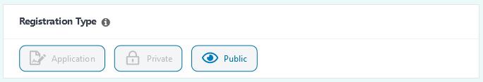 Easy Affiliate Registration Type settings