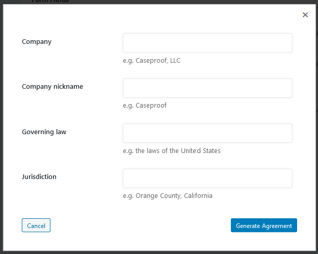 Auto-Generate Default Affiliate Agreement in Easy Affiliate