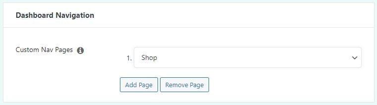 Add Additional Dashboard Navigation Tabs via Easy Affiliate's Dashboard Navigation settings.